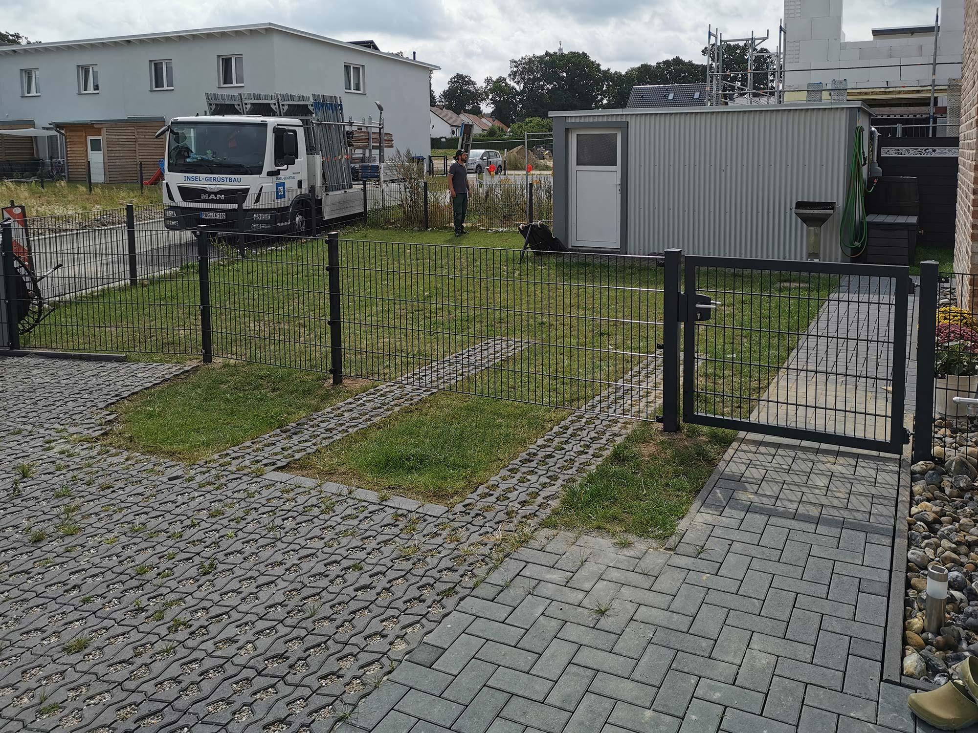 Zaunbau Stralsund Andershof